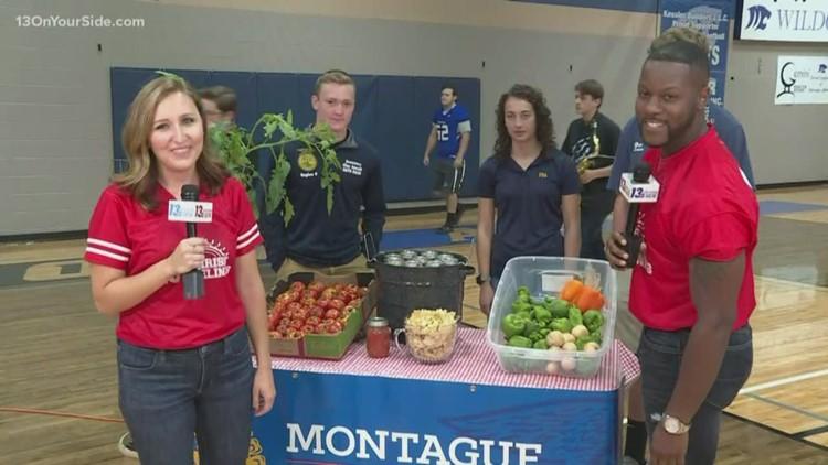 FAA Students Make Salsa from School Garden