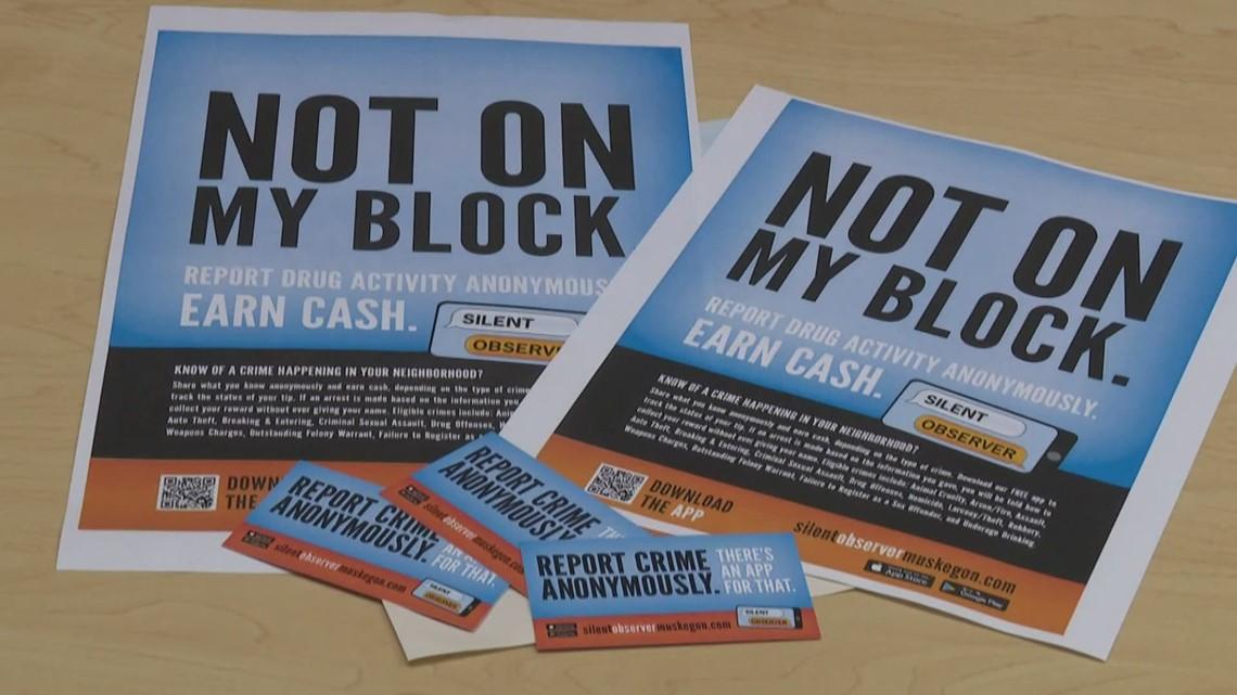 Muskegon County Silent Observer offering up to $2,500 cash reward for tips on major investigations