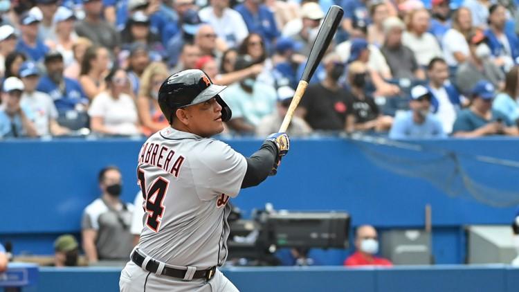 Tigers slugger Miguel Cabrera hits 500th career home run