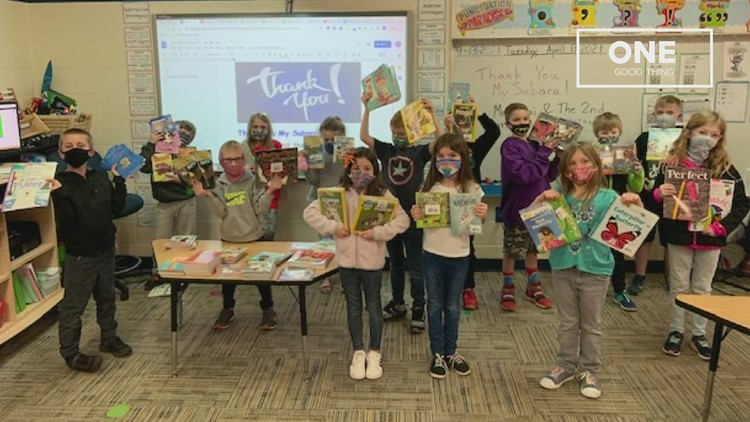 One Good Thing: $1,000 in books for 2 teachers