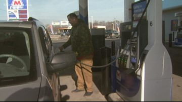 Gas prices ahead of Labor Day weekend