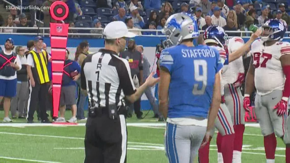 Lions quarterback Matthew Stafford remains on the sidelines in upcoming game
