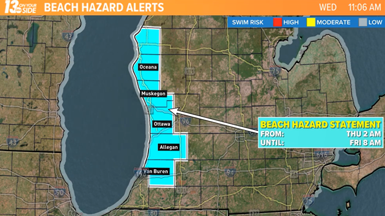 Stay out of the water and off piers: Dangerous lake conditions expected through Friday