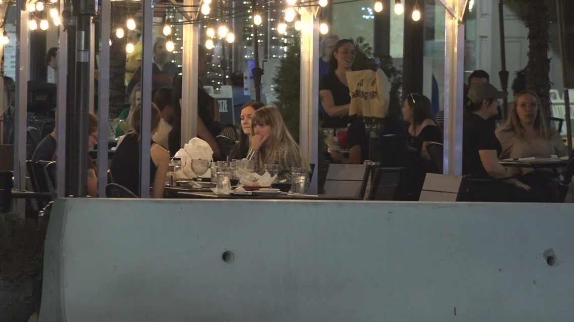 Art & Alcohol: GR refreshment zones allow visitors to drink as they browse outside