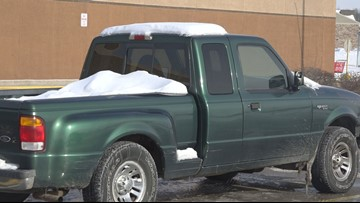 MSP: All snow/ice must be removed from entire vehicle before driving