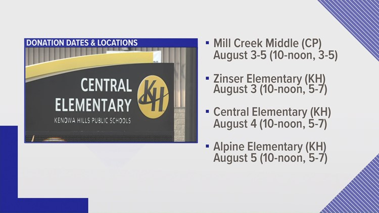 Friendly competition: Kent Co. districts see who can donate more school supplies