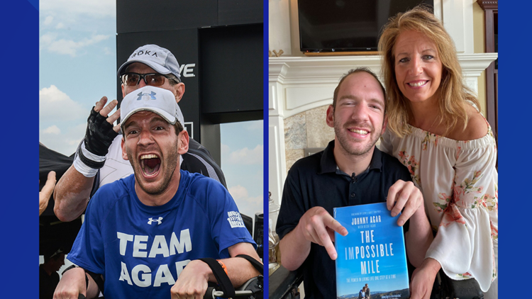 From wheelchair to Ironman Athlete: Rockford's Johnny Agar releases new, inspirational book