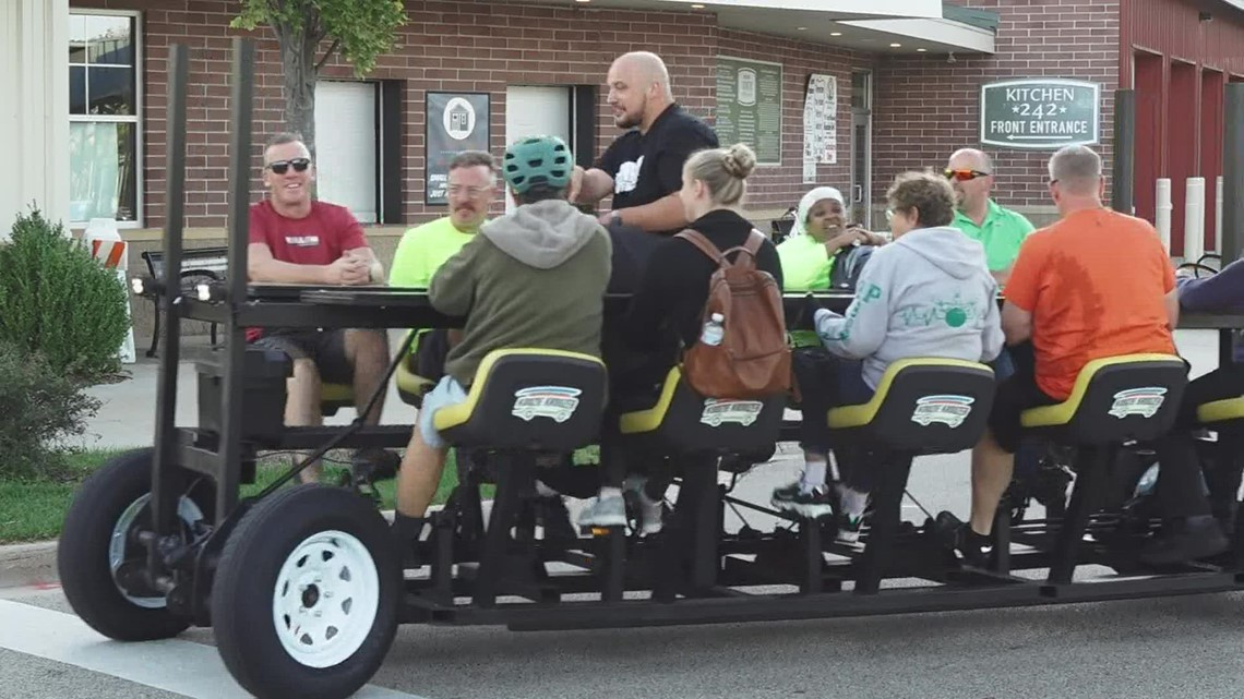 Coming Soon: Muskegon pedal pub expected to take its first ride this weekend