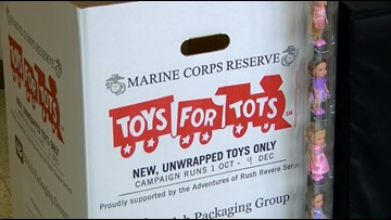 Toys for Tot season is starting up