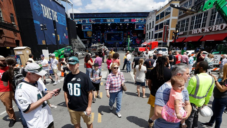 Nashville gets its chance to step up for the NFL draft