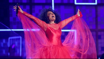 Diana Ross performing in Grand Rapids Tuesday