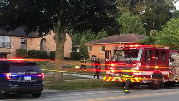 Man dies in small house fire on Grand Rapids' northwest side