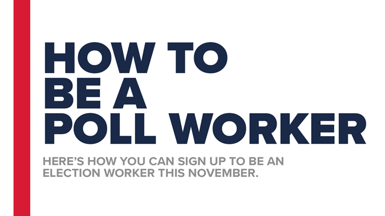 How to be a poll worker in Michigan