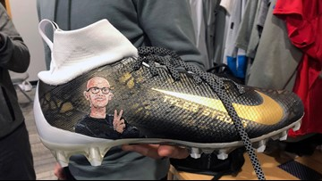 Lions QB Blough to honor Tyler Trent with special shoes