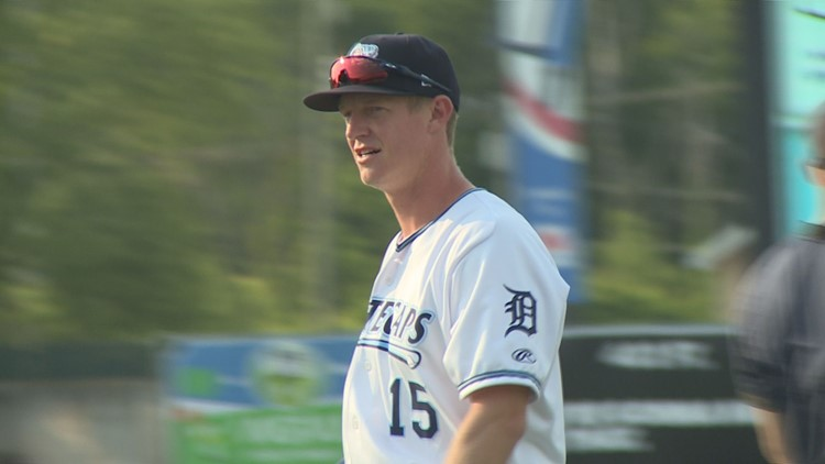 New Whitecaps first baseman Jimmy Kerr happy to be back in Michigan