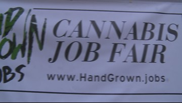 Hundreds show up for Cannabis job fair in Grand Rapids