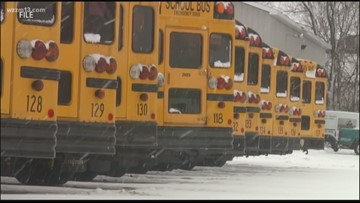 Hundreds of Schools and Businesses closed Wednesday