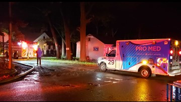 Garage burns down in vacant house fire in Muskegon Heights