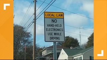 Battle Creek's new ordinance bans the use of cell phones while driving, and police will pull you over for it