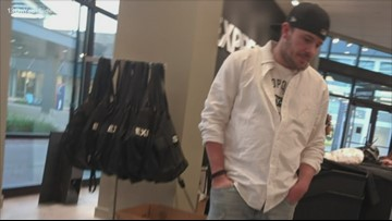 Kent County Sheriff's Office: Man wanted for engaging inappropriately with Tanger Outlet Mall employee