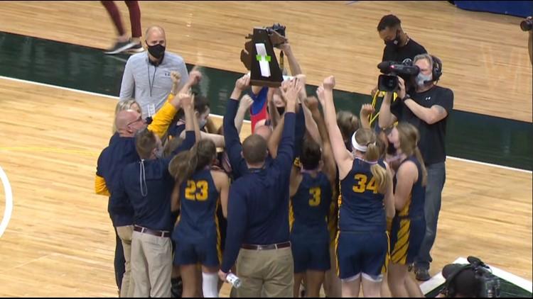 Hudsonville earns first girls basketball state championship