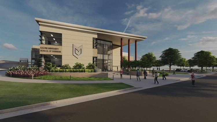 Calvin University breaks ground on new School of Business