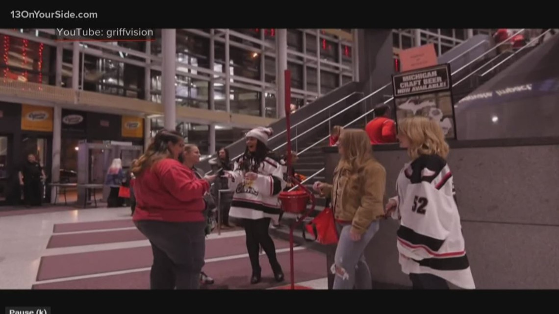 Salvation Army sponsoring 'Red Kettle Game' with Grand Rapids Griffins