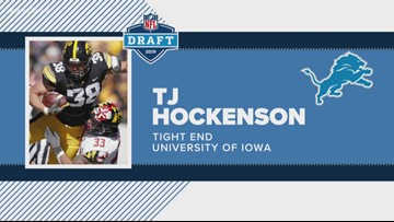 Lions pick tight end in first round of NFL draft