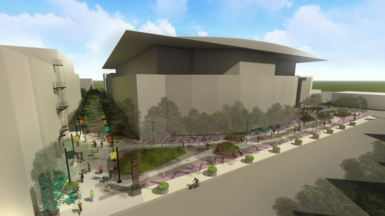 van andel arena plaza renovations1