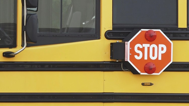 Drivers who blow through school bus extended stop arms are now more likely to get fined