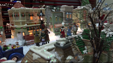 Christmas transforms Cascade home into 'Winterville'