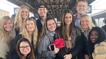 CMU student returns to West Michigan from Italy study abroad program amid coronavirus fears
