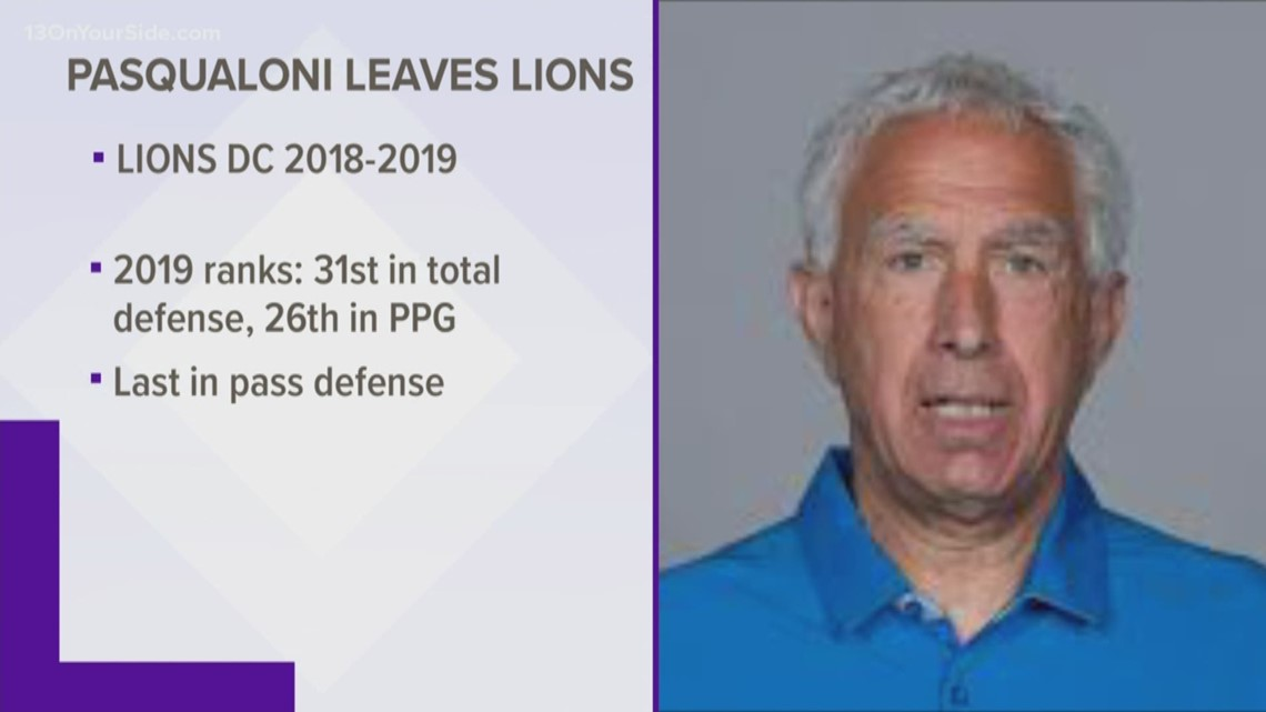 2 assistants leave Lions coaching staff