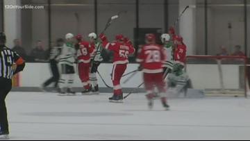 Prospect camp: Red Wings vs. Dallas Stars