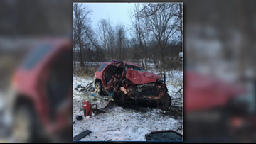 Deputies believe 'medical issue' caused Boston Township crash
