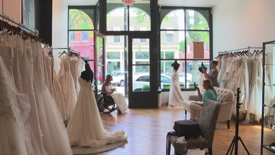 Bridal shop holds inclusive photoshoot in Zeeland