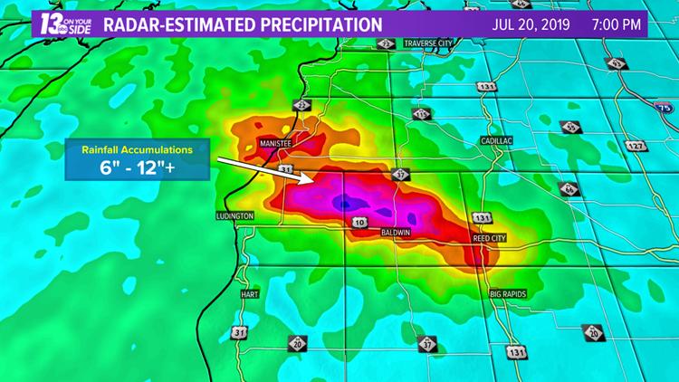 Radar-Estimated Precipitation