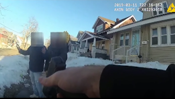 GR Police release body cam footage of officer drawing gun on teens