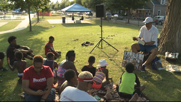 Storytime is a part of city's response to series of shootings