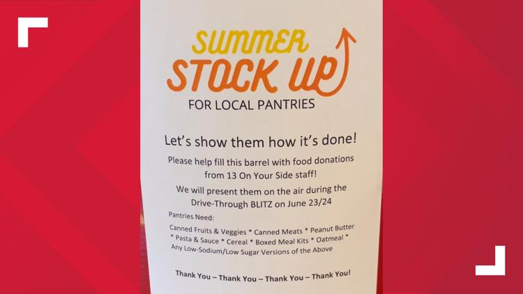 West Michigan participates in United Way Summer Stock Up