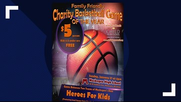 Charity basketball game aims to end child abuse