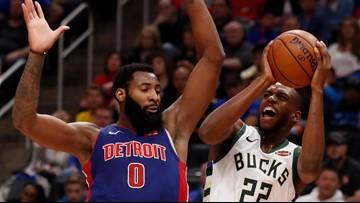 Bucks beat Pistons 119-103 to take 3-0 series lead