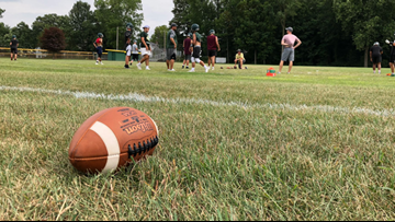 13 On Your Sidelines Two-A-Days: High school football teams gearing up for the season