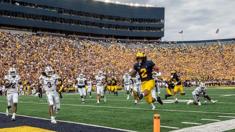 Michigan's Harbaugh renames drill, inspired to beat Ohio State