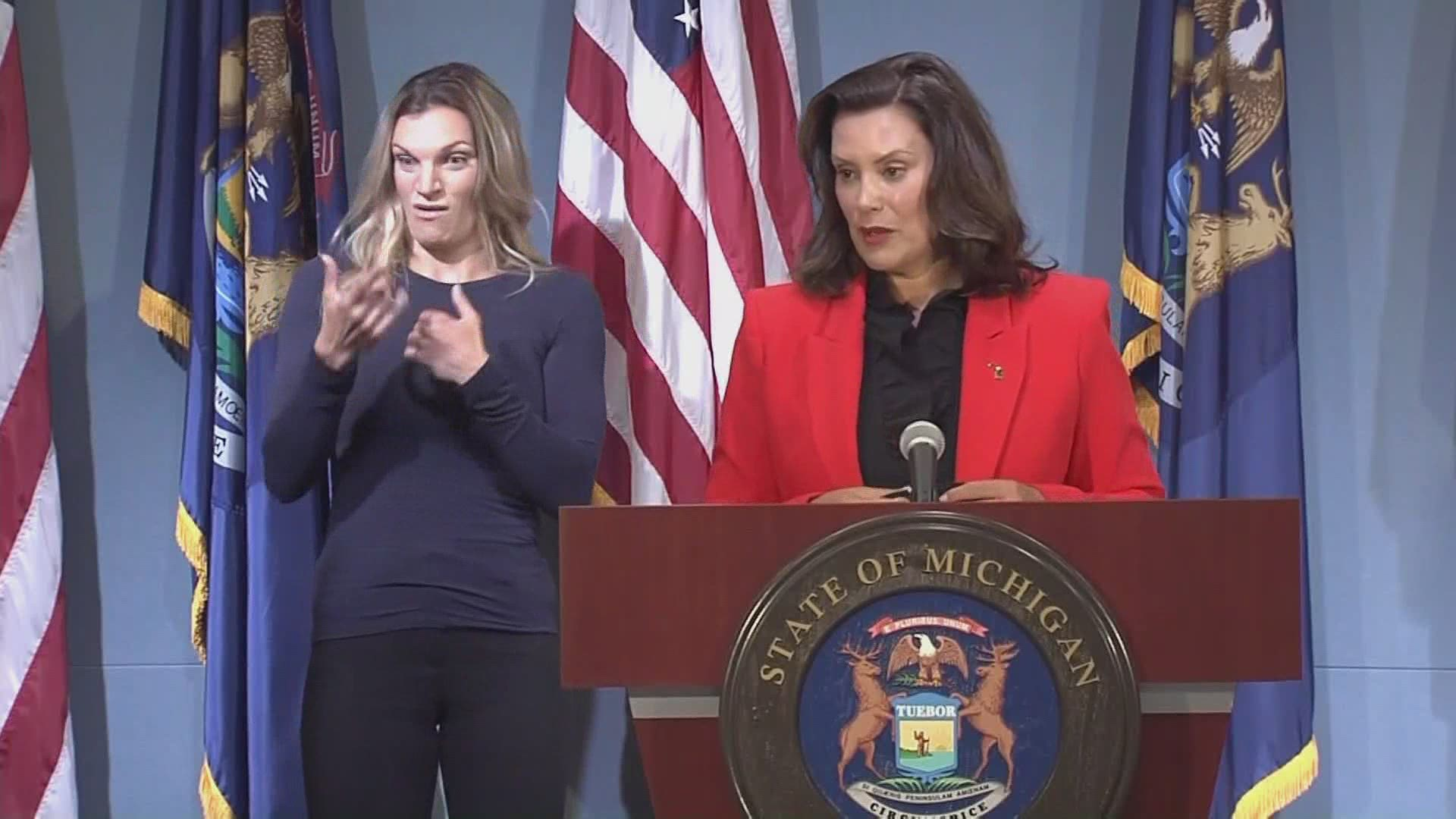 Gov Whitmer Limits Indoor Gatherings To 10 People And Closes Bars In Upper Michigan Wzzm13 Com