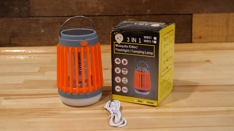 Mosquito Lamp promises to take the bite out of camping