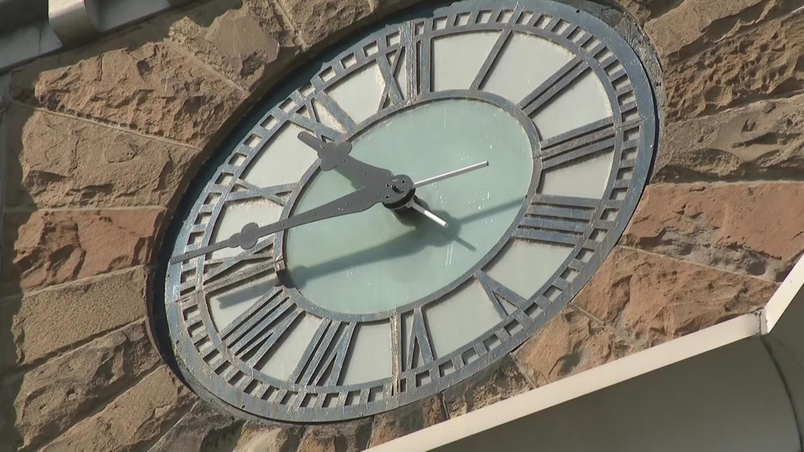 School district handing off weekly winding of Hackley Clock to nonprofit
