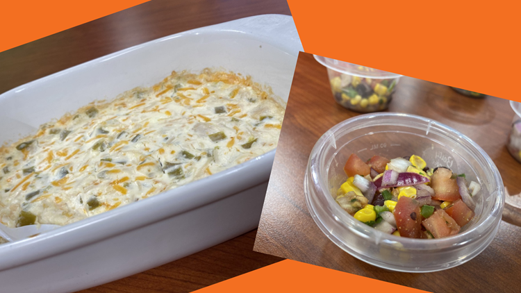 Jay and Meredith go head-to-head with Super Bowl Dips