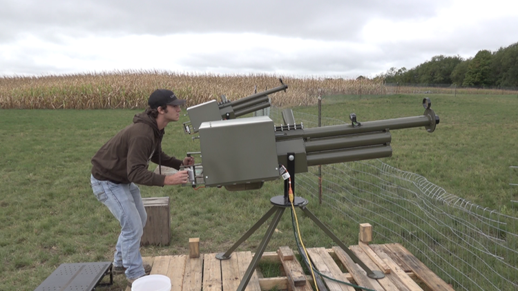 Kent County orchard adds apple cannons for 2021 season