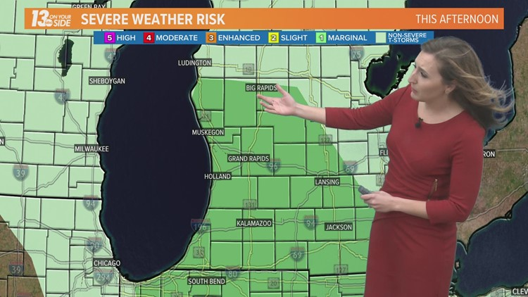13 On Your Side Forecast: Showers & Storms Thursday Afternoon